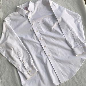 Brooks Brothers White Button Up Dress shirt